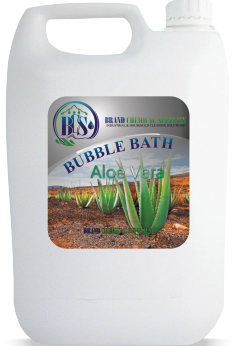 bubble bath aloe