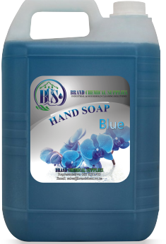 hand soap blue