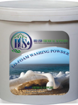 lo foam washing powder