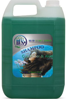shampoo cucumber and aloe